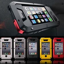 IPhone Samsung 5 6 7 8+,Shockproof Waterproof heavy duty Bumper Metal Cover Case