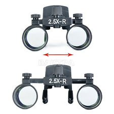 2.5X-R Clip on Dental Medical Clinic Surgical Binocular Magnifier Loupes