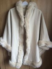 Ponchos Faux Fur Unbranded Coats & Jackets for Women