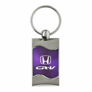 Honda CRV Key Ring Purple Wave Keychain