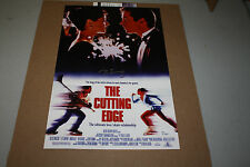 """D.B. SWEENEY Signed 11X17 Autograph POSTER """"THE CUTTING EDGE"""" DB SWEENEY JSA"""