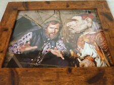 Framed Original Print Jim henson Labyrinth loot crate DX #15 creatures bowie