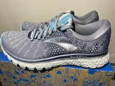 NEW Brooks Glycerin 17 Women's Sz 6.5 Running Shoes Grey Green Aqua