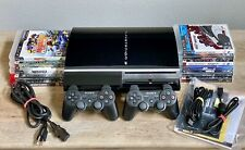 Sony Playstation 3 160GB Console and 11 Games