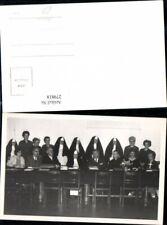 279818, foto AK religión Nonnen Tisch stühle