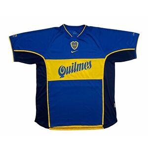 🔥Boca Juniors 2001 Football Shirt 'Intercontinental Cup' Original Nike - XL🔥