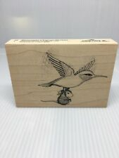 """Stampa Rosa House Mouse """"Hummingbird Express""""  rubber stamp"""