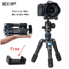 Flexibale Portable Mini Desktop Aluminum Tripod with Ball Head for DSLR Camera