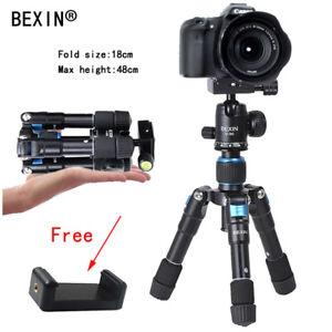 Flexibale Portable Mini Desktop Aluminum Tripod with Ball Head for DSLR Camera