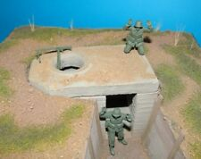 1/35 WW2 Tobruk Bunker Diorama Accessory