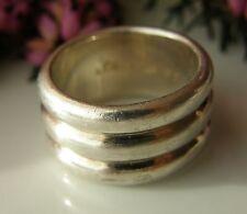 Designer Ring von s.Oliver Bandring 925° Silber  Gr.55 ca. 13,8 g um 1990 R299