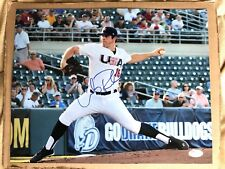 Chicago White Sox Carlos Rodon SIGNED 11x14 Team USA Baseball Photo- JSA COA