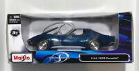 1970 Chevy Corvette Stingray T-Top Die-cast Car 1:24 Maisto Special Edition Blue