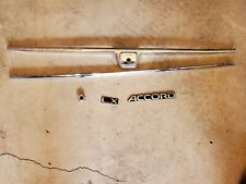 1992 - 1993 honda accord chrome package grill emblems antenna accessories used