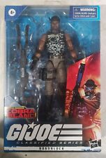 "Hasbro GI Joe Classified Series Cobra Island Roadblock 6"" Figure, New"