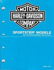 1993-1994 Harley Sportster XL1200 XL883 Parts Catalog Manual Book NEW 99451-94A
