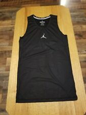 Air Jordan Compression Tank Top Sleeveless Shirt Men Xxl Black