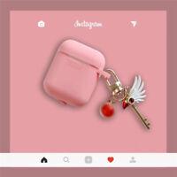 Cute Cardcaptor Sakura Toy Case Airpods Soft Cover for Apple Bluetooth Earphone