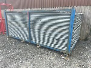 Temporary Site Security Heras Fencing Panels ~ Used