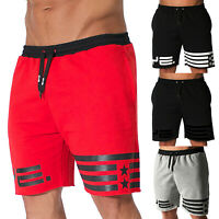 Men Sports Running Workout Summer Breathable Shorts Fitness GYM Short Pants