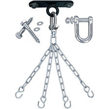 RDX Punch Bag Ceiling Hook With Chains Swivel,Steel Wall Bracket Boxing 4S CA