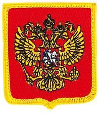Patch écusson brodé  BLASON ARMOIRIE  RUSSIE RUSSE  Drapeau Thermocollant