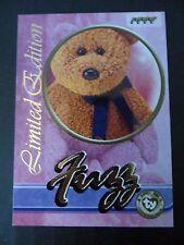 Rare Ty Beanie Babies Series III S3 ~Limited Edition Fuzz Tear A Bear BBOC Card