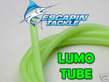 Glow Tubing 3mm inside diameter. Attracts fish! Deep water rigs. Fishing rigs