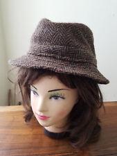 Vintage Hats of Ireland Castlebar 100% Pure Wool Donesal Tweed Men's L Hat
