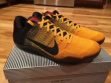 Nike Kobe XI 11 Elite Low Bruce Lee Warrior Spirit 822675 706 Men's Size 7