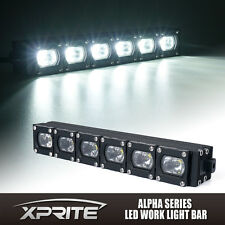 "Xprite 10"" C7 Alpha Series 30W CREE LED Offroad HD Light Bar Spot Flood Combo"