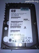 Disque Dur / HDD HP/Compaq BF036863B5 - 36.4 Go - SCSI - 3.5' - 15000RPM