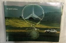 1976 Mercedes-Benz Brochure Sales Brochure With Blue Insert