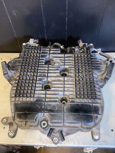 2008-2013 INFINITI G37 TOP UPPER AIR INTAKE MANIFOLD 3.7L ENGINE V6 BLACK OEM EC
