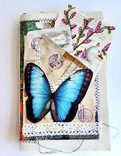 Hand Made Junk Journal Travelers Notebook Scrap booking Memory Diary Ephemera