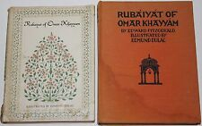Rubaiyat of Omar Khayyam - 1952 and 1933 - Edward Fitzgerald / Edmund Dulac