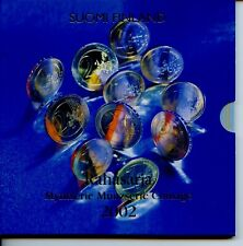 FINLAND 2002 EURO KMS FINNLAND 2002 BU Kursmünzensatz Suomi Münzen Coin Set