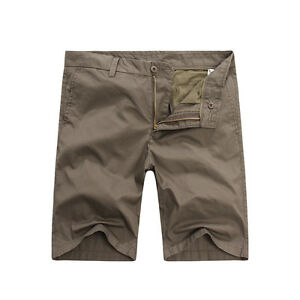 FOX JEANS Men's Saxon Relaxed Fit Chino Casual Shorts  SIZE 42