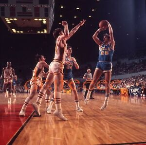 1972 Andy Hill UCLA BRUINS - 120mm Basketball Transparency