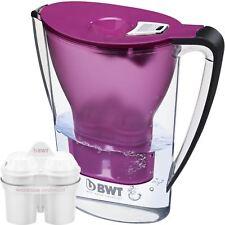 BWT Caraffa Filtrante acqua 2.7 L melanzana e magnesio 1 Mg2+ lunga 120 L CARTUCCIA