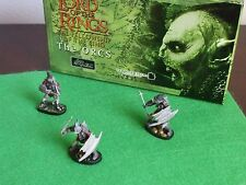 The Lord of the Rings - The ORCS - 3 Piece Hand Painted Pewter Figurine set.