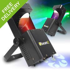2x Beamz LED RGBW Wildflower GOBO Effect DJ Disco Party Scanner Lights Lighting
