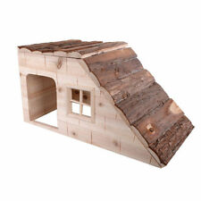 "Wooden Hamster or Guinea Pig House - Measures 19""L x 9.75"" W x 10"" H"