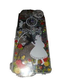 Hardcase Iphone 6/6s cover /case / glitter alice in wonderland hard back  cover