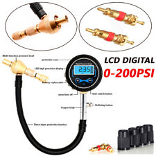 Digital Car Truck Pickup Tire Air Bleeder Deflator Wheel Pressure Gauge Meter