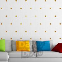 POLKA DOTS set pack of 40 wall art stickers decals dot spot window sticker decal