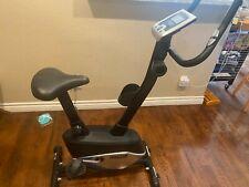 progear exercise bike good condition black