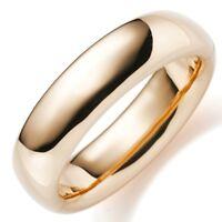 19,5mm Armreif Armband Armschmuck aus 750 Gold Rotgold glatt glänzend, Damen