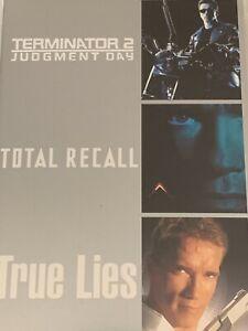 Terminator 2/ Total Recall / True Lies Schwarzenegger DVD