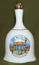 German Brandenburg Gate souvenir hand made porcelain bell
